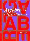 Algebra 1 Homeschool Kit (3rd Edition)