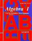 Algebra 1 Answer Key & Tests (3rd Edition)