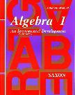 Algebra 1 Solutions Manual (3rd Edition)